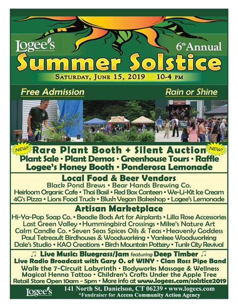 Logee's 2019 Summer Solstice Celebration