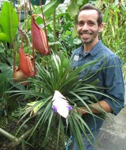 Angel Lara, Assist. Director of Horticulture, Marie Selby Botanical Gardens